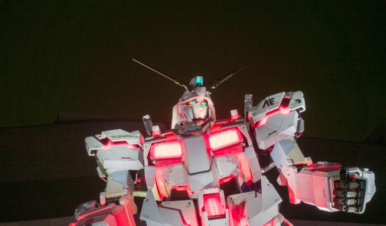 """""""Life Size Gundam"""" in Odaiba, Tokyo"""